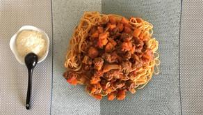 Spaghettis à la bolognese