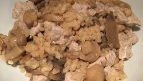 Risotto veau et champignons