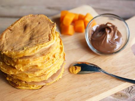 Pancakes au potiron - pumpkin pancakes