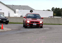 Testing at the track
