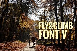 Fly&Climb Font 05