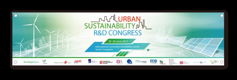 Urban Sustainability R&D Congress Banner
