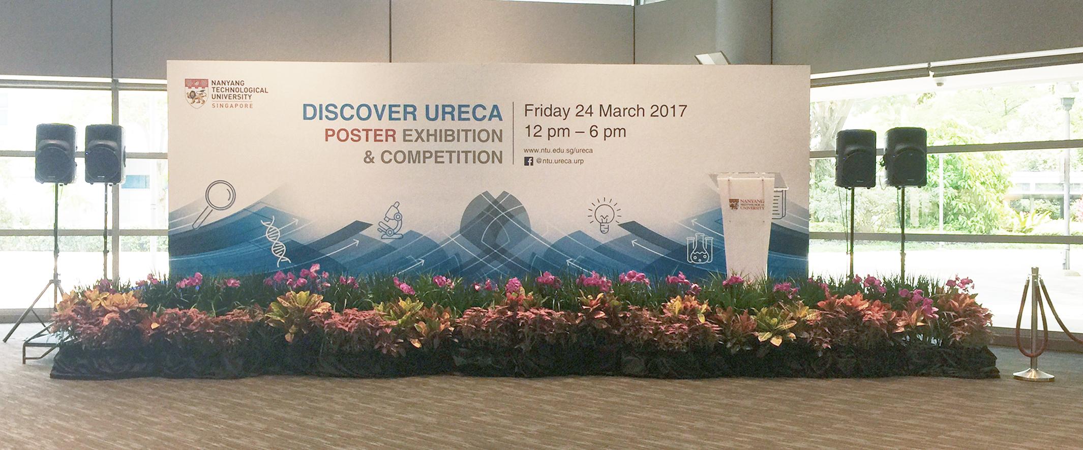 NTU Discover ureca poster exhibition-sta
