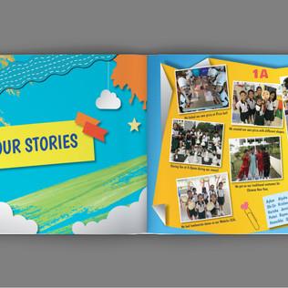 Xingnan Primary School Yearbook Content 4