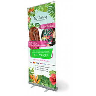 Rio Clothing Pull Up Banner
