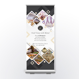 A2 Management Pull Up Banner
