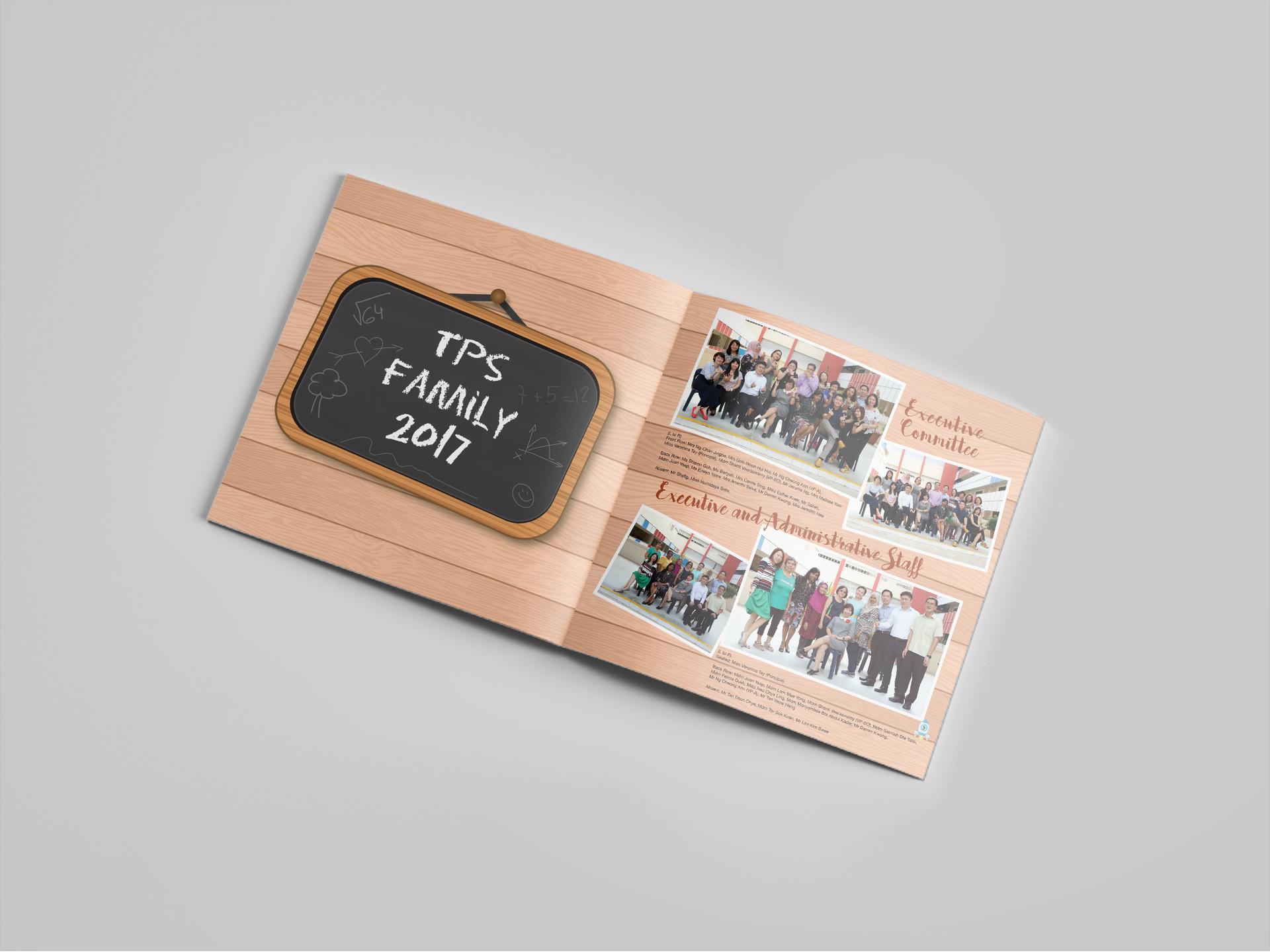 Tampines Primary School Yearbook Content