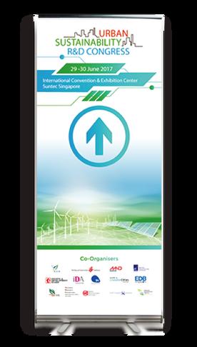 urban sustainalibity R&D congress-signag