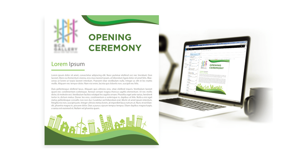 Gallery Opening Ceremony EDM