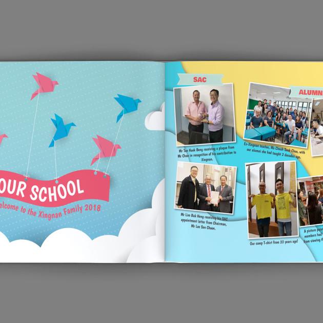 Xingnan Primary School Yearbook Content 1