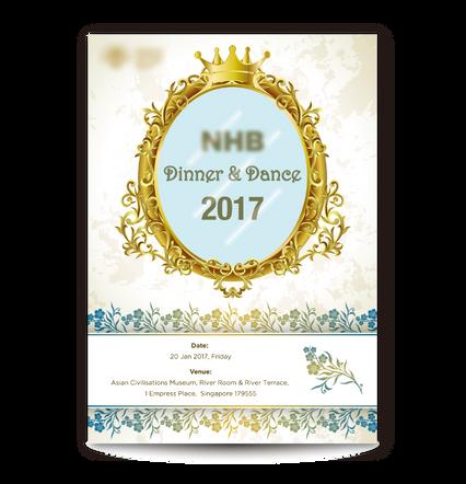 Dinner & Dance Poster