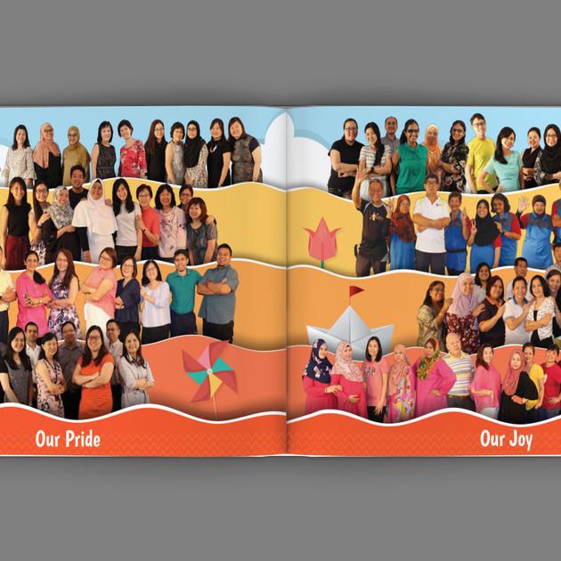 Xingnan Primary School Yearbook Content 5