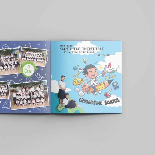 Tampines Primary School Yearbook Content 1