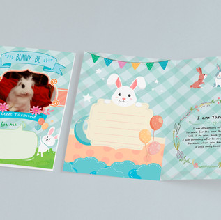 Bunny Be Card Series Design 2