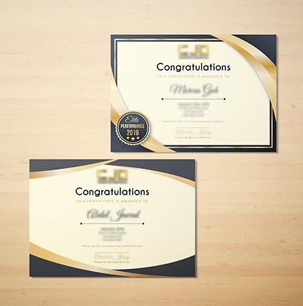 CJO Certificate 2
