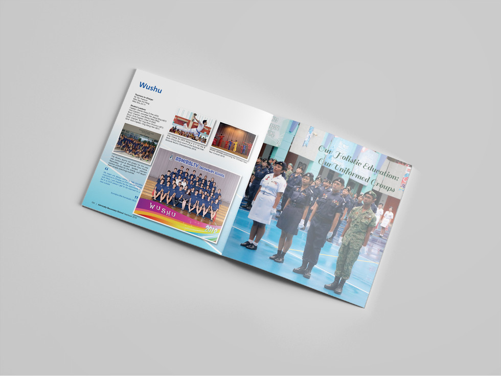 Admiralty Secondary School Yearbook Cont