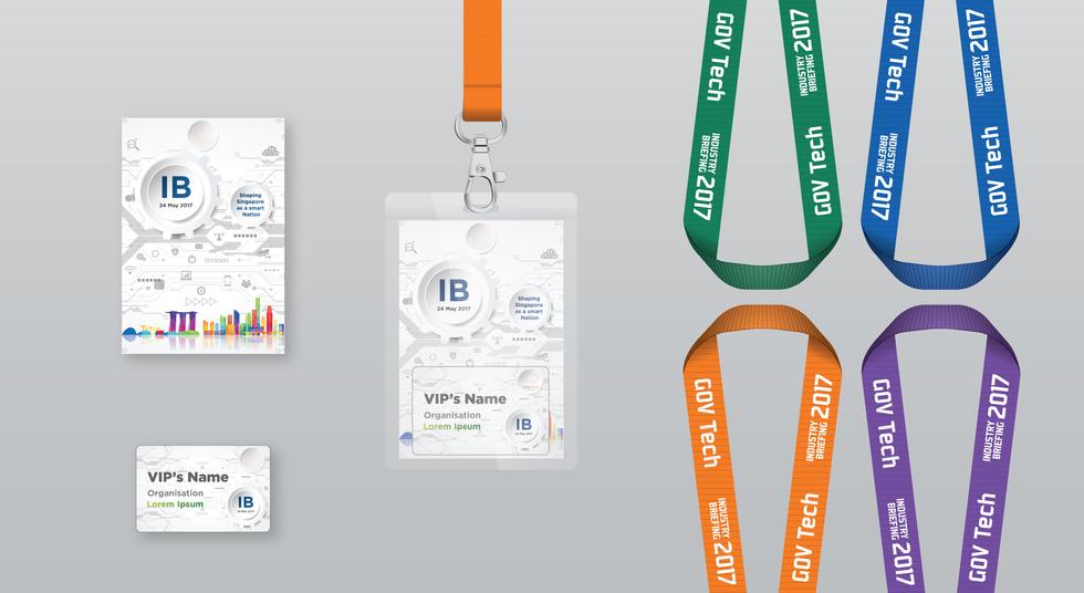 Industry Briefing Name Badge & Lanyard