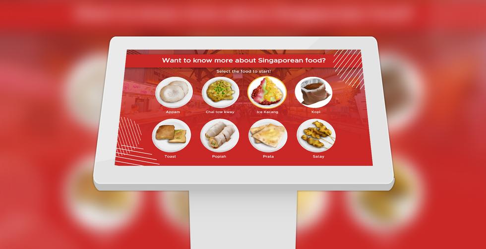 Food Wall Interactive