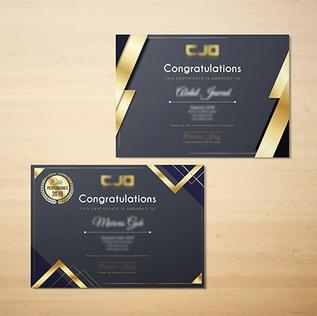 CJO Certificate 1