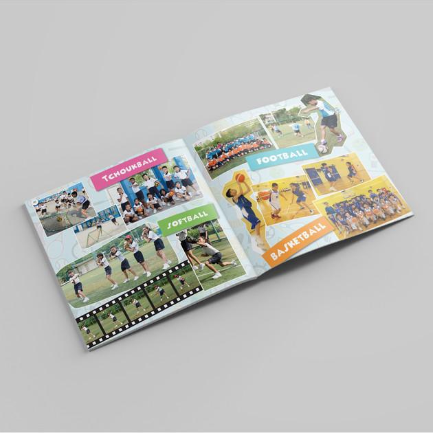 Tampines Primary School Yearbook Content 3