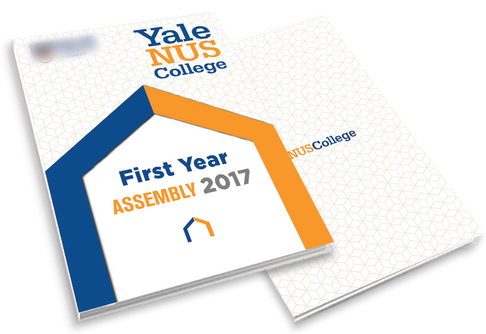 College First Year Assembly Programme Book Cover 2