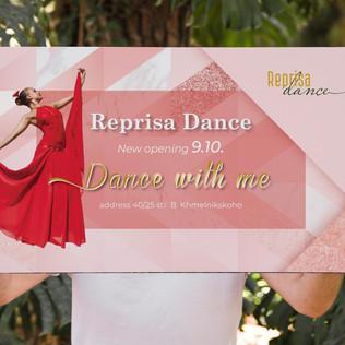 Reprisa Dance Poster