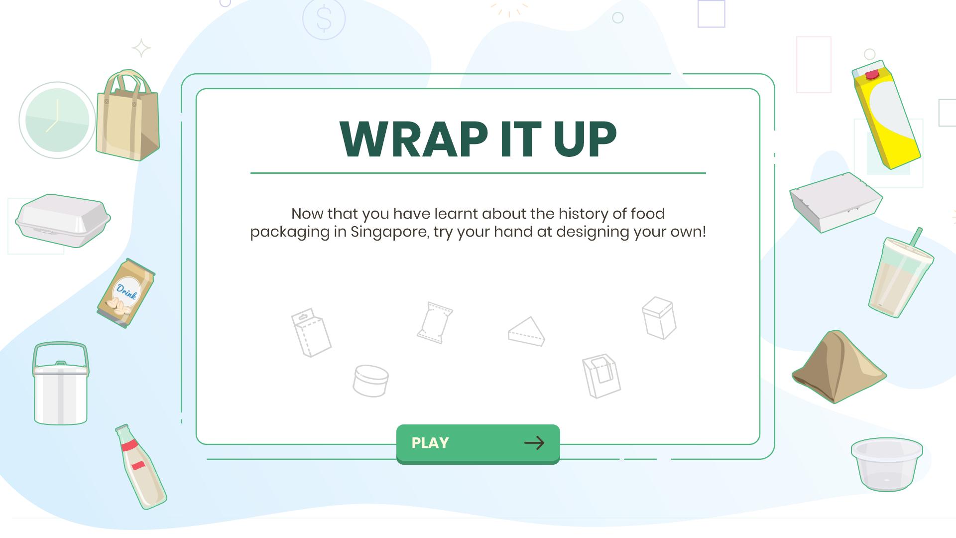 Packaging Game Screensaver