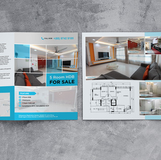 HDB Selling Ad Brochure