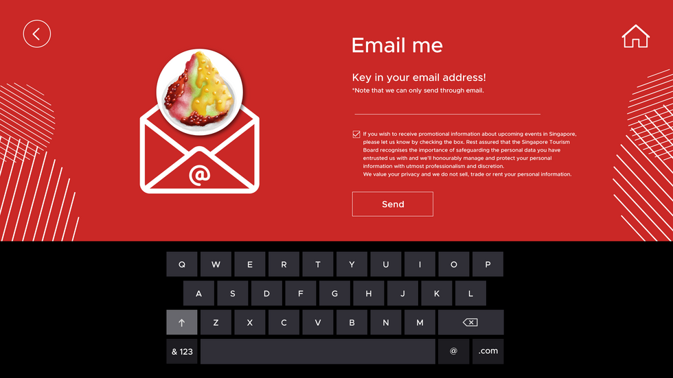 Food Wall Email