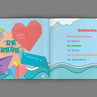 Xingnan Primary School Yearbook Content Page