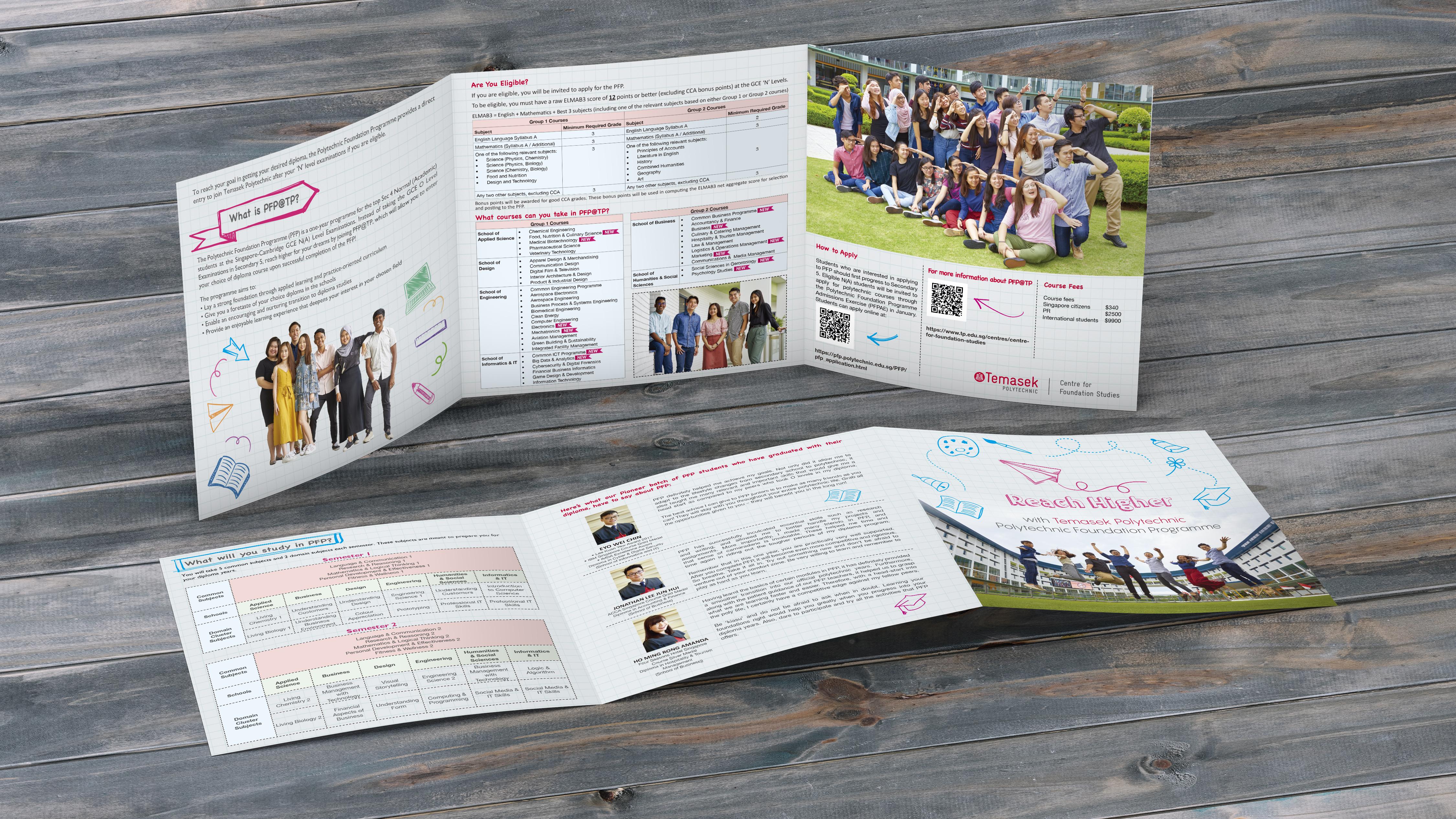 Temasek Poly - Brochure