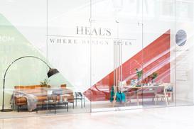 Heals Westfield Window