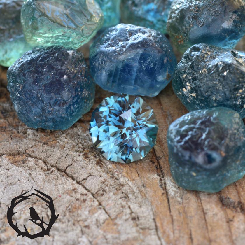 1.1ct Montana Sapphire