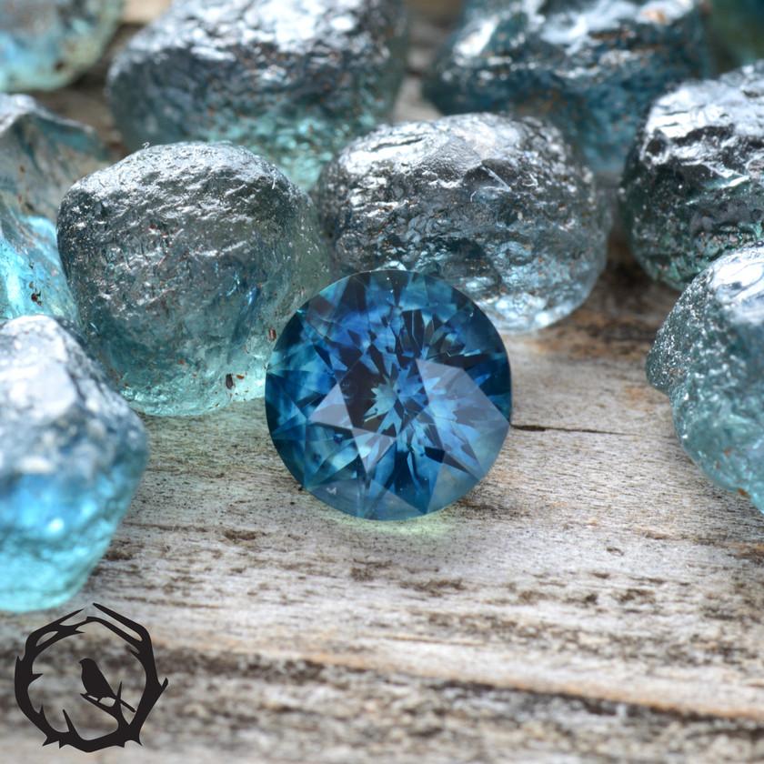 1ct Montana Sapphire
