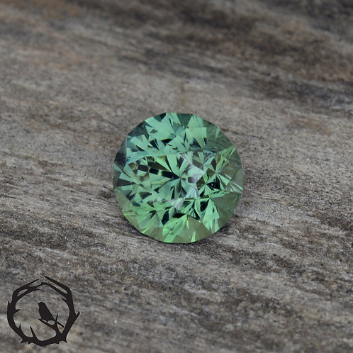 1 carat Montana Sapphire Green (Heated)