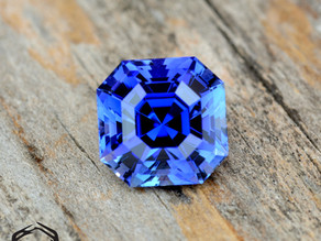 Royal Blue Asscher