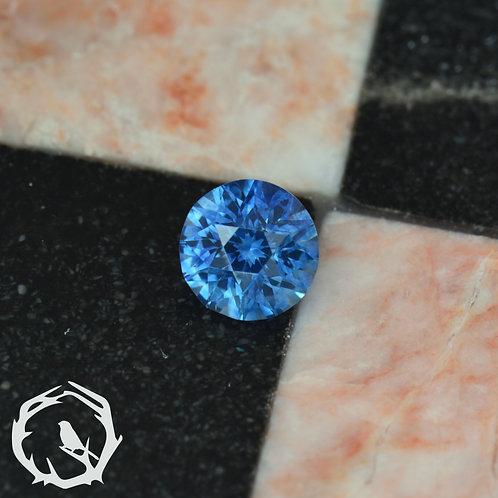 0.76 carat Montana Sapphire Periwinkle Blue (Heated)