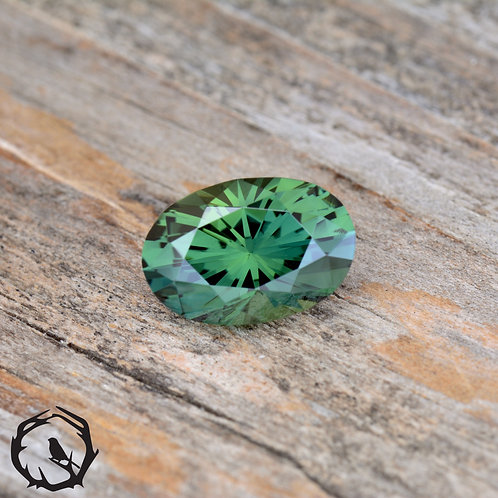 2.2 carat Australian Sapphire Green