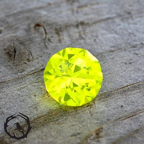 Lab Created YAG Nuclear Yellow