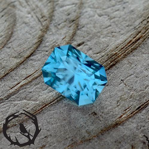 2.38 carat Zircon Blue