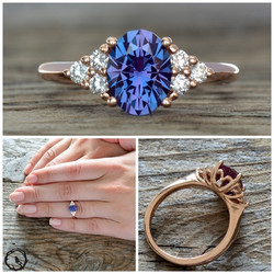Accented Oval