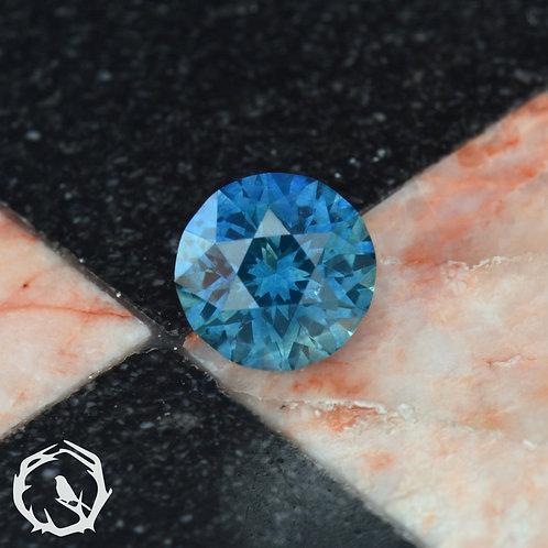 1.1 carat Montana Sapphire Medium Blue (Heated)