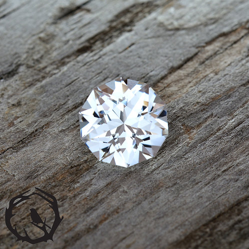 Lab Created Sapphire White