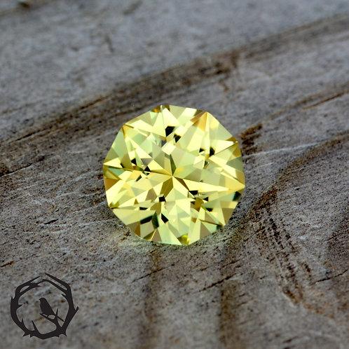 Lab Created Sapphire Yellow