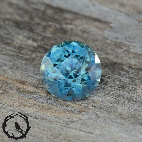 0.9 carat Montana Sapphire Teal (Heated)
