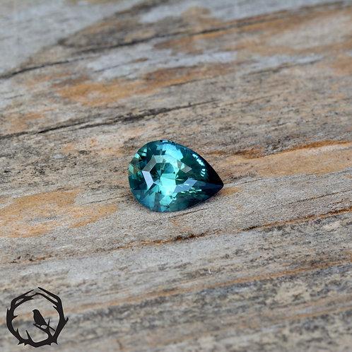1.3carat Montana Sapphire Teal (Heated)