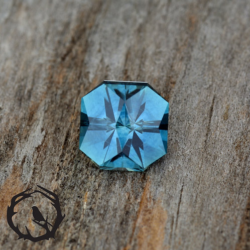 1.3 carat Montana Sapphire Medium Blue (Heated)