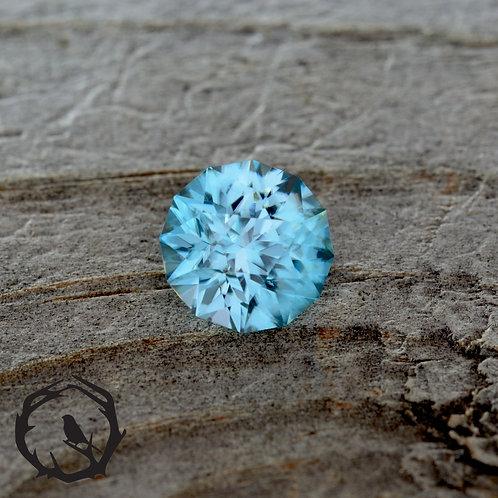 0.94 carat Zircon Blue