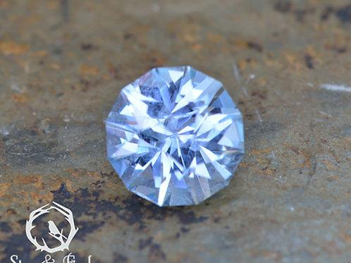 0.48 carat Montana Sapphire Light Blue (Unheated)