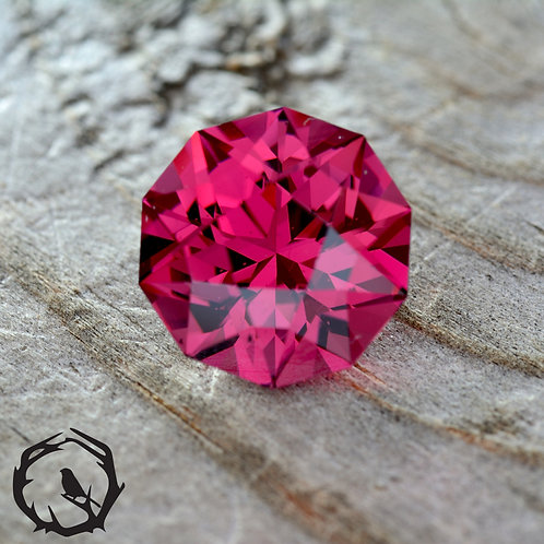 2.43 carat Rhodolite Garnet